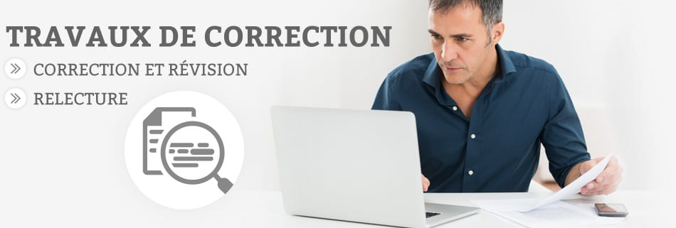Travaux de correcction