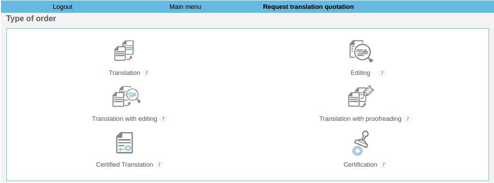 Leginda's ordering process