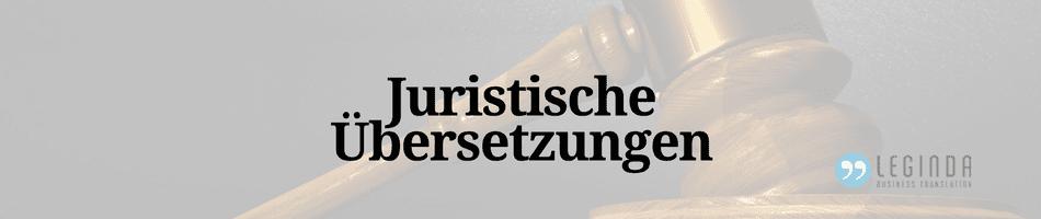 Beitragsbild Juristische Übersetzung