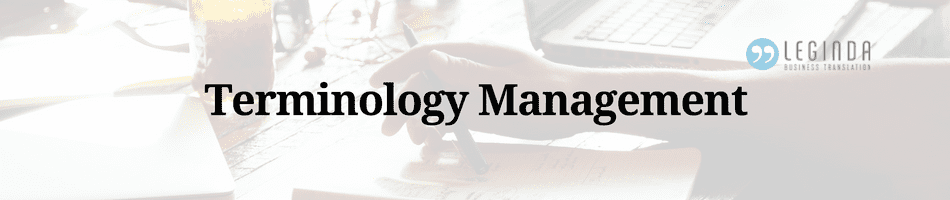 article terminology management