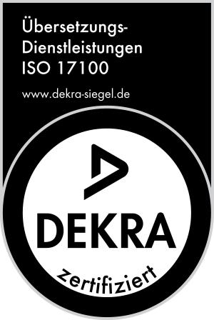 Dekra ISO 17100