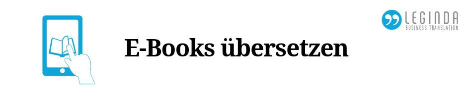 E-Books übersetzen Beitrag