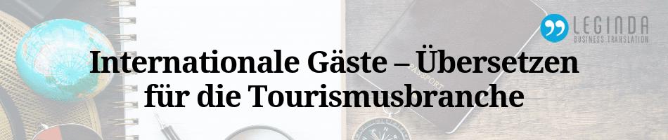 Übersetzer in der Tourismusbrache